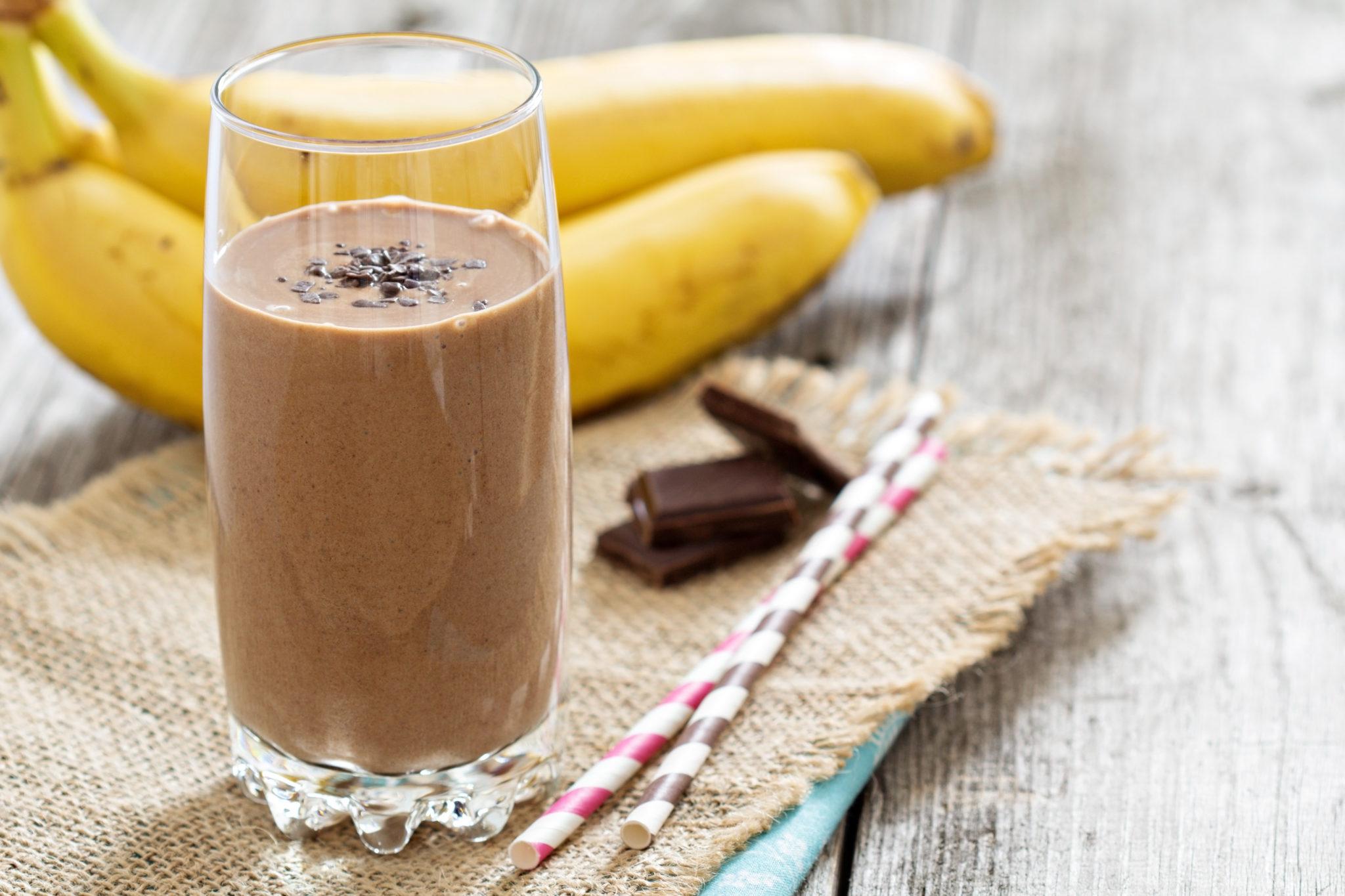 Čokoládové smoothie  – pochoutka pro podzimní ráno