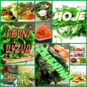 moje prvni VÝZVA zelenina