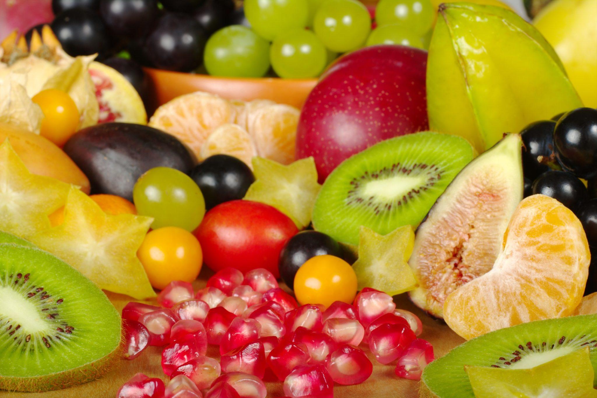 Ovoce je čistící prostředek na detox