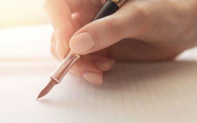 Vezměte si pero a začněte si psát svůj vlastní příběh