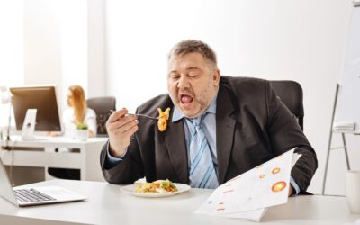 Příčiny nadváhy, příběh první: Uspěchaný manažer dohnal stres